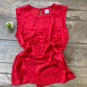 CAbi Style 3130 Red Top